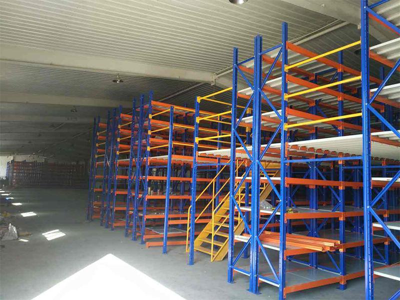 柳工集团蚌埠起重机有限公司-仓储货架安装