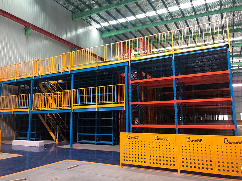 阁楼货架工程案例