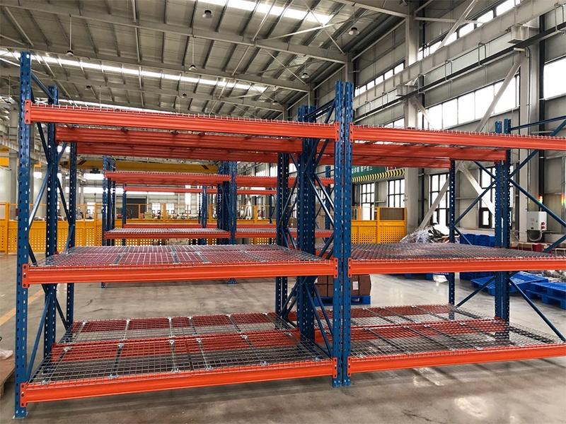 重型网格板货架案例(徐州货架)